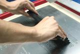 丝印机印刷锡浆