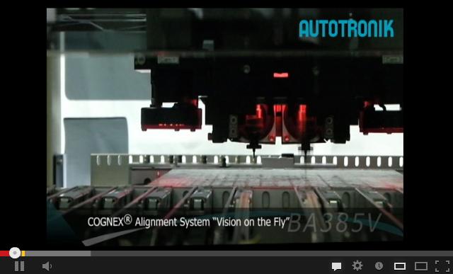 BA385V全自动飞行影像对中型贴片机视频