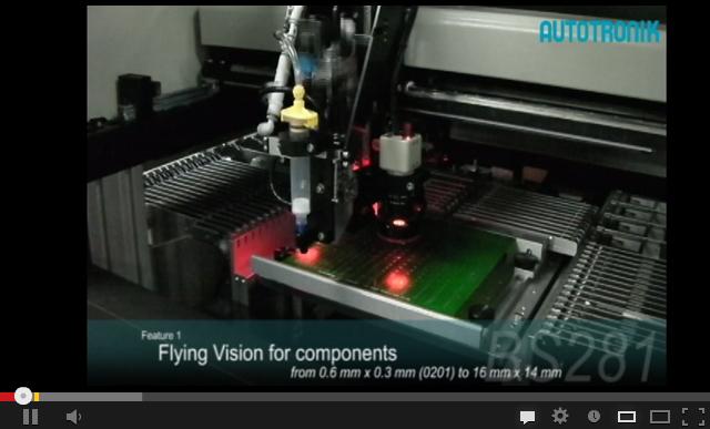 BS281桌面型飞行对中小型贴片机视频
