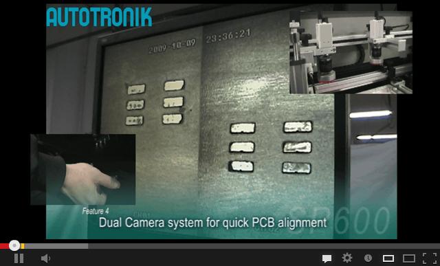 SP600/SP600L半自动锡浆丝印机视频