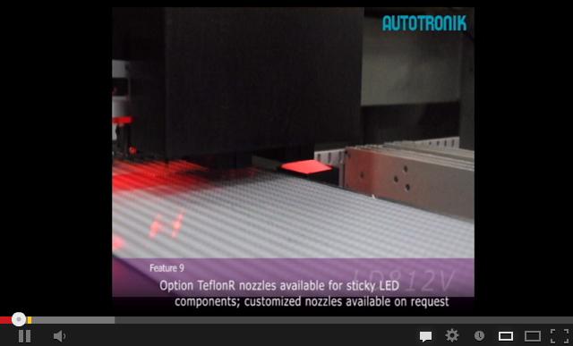 BORISON LD812V专业贴装LED贴片机视频